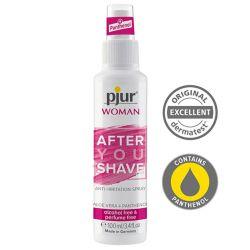 Spray po goleniu dla kobiet...