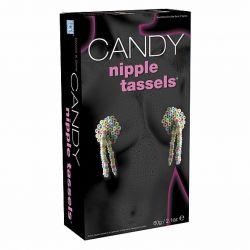Cukierkowe nakładki na sutki - Candy Nipple Tassels